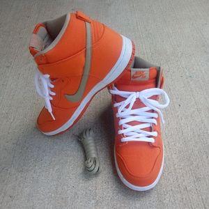 Nike Dunk SB High Urban Orange Bamboo